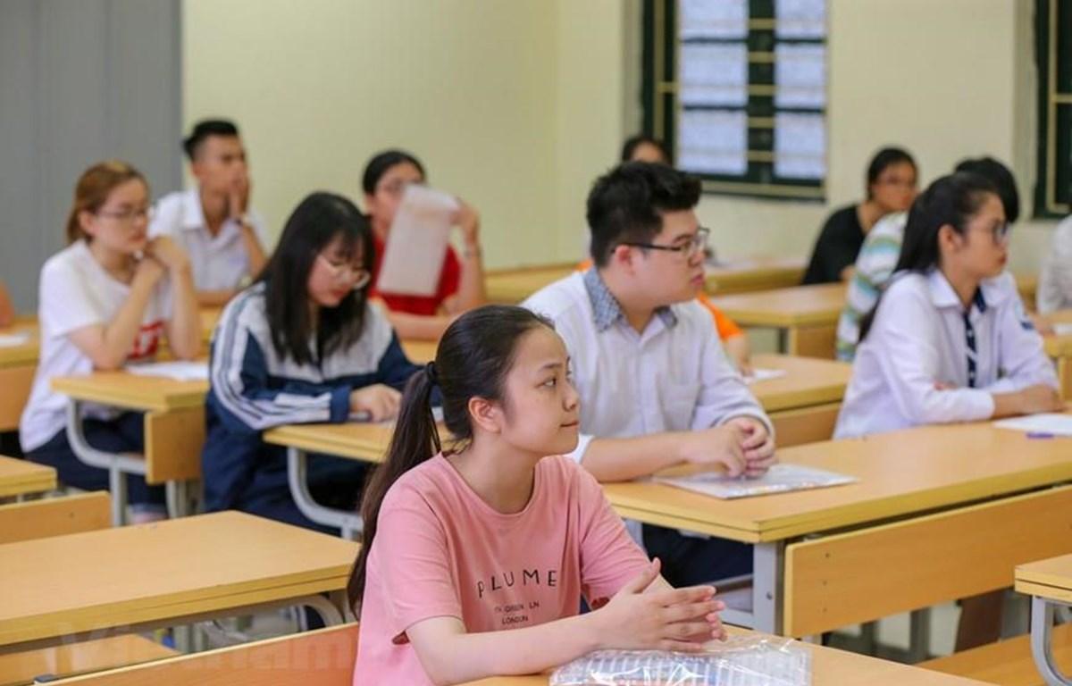 Trên 887.000 thí sinh cả nước bắt đầu kỳ thi THPT quốc gia 2019