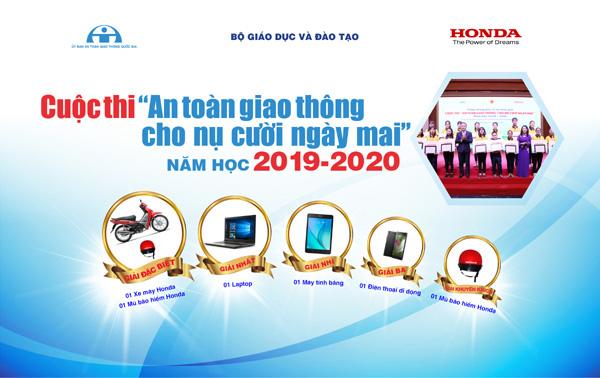 """Cuộc thi """"An toàn giao thông cho nụ cười ngày mai"""" năm 2020-2021"""